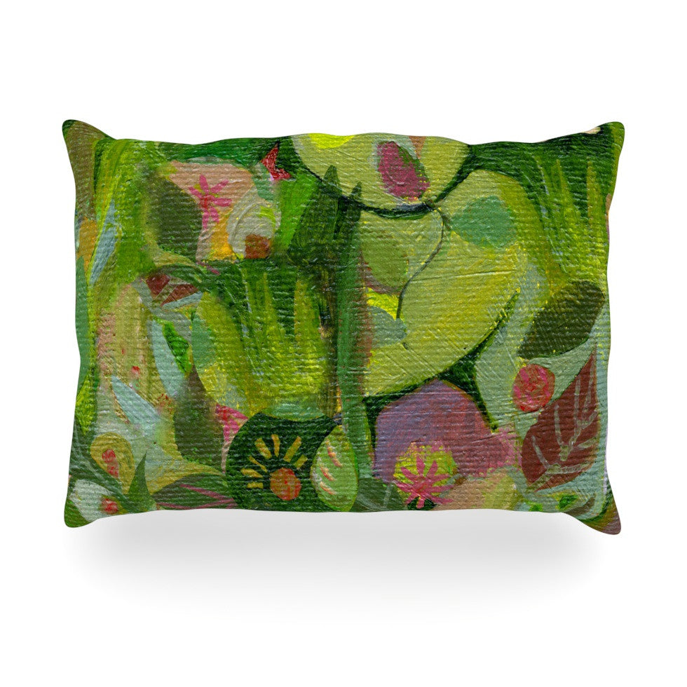 "Marianna Tankelevich ""Jungle"" Oblong Pillow - KESS InHouse"