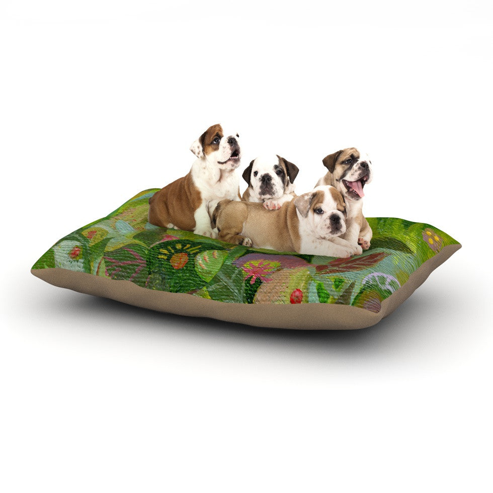 "Marianna Tankelevich ""Jungle"" Dog Bed - KESS InHouse  - 1"