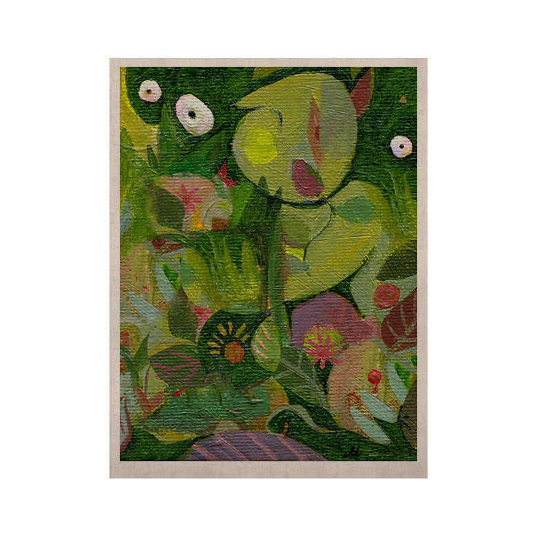 "Marianna Tankelevich ""Jungle"" KESS Naturals Canvas (Frame not Included) - KESS InHouse  - 1"