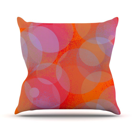 "Marianna Tankelevich ""Six"" Outdoor Throw Pillow - KESS InHouse  - 1"