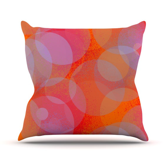 "Marianna Tankelevich ""Six"" Throw Pillow - KESS InHouse  - 1"
