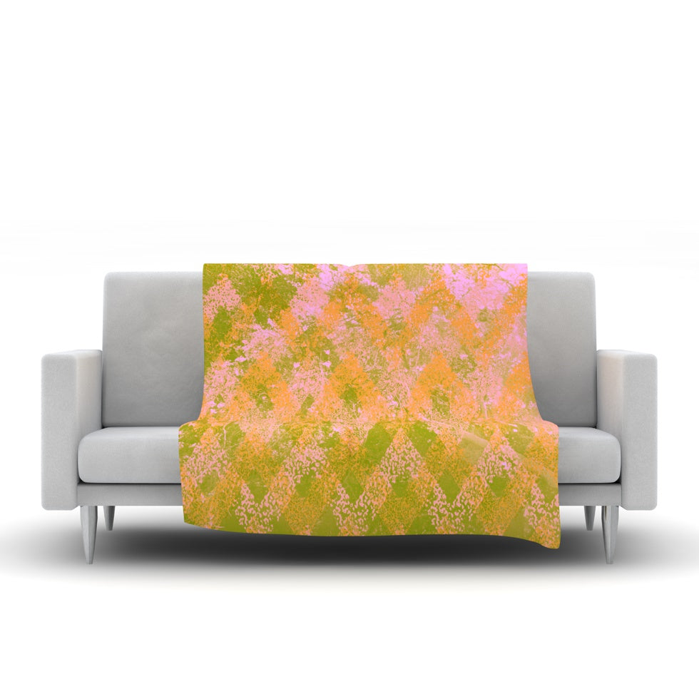 "Marianna Tankelevich ""Fuzzy Feeling"" Fleece Throw Blanket"