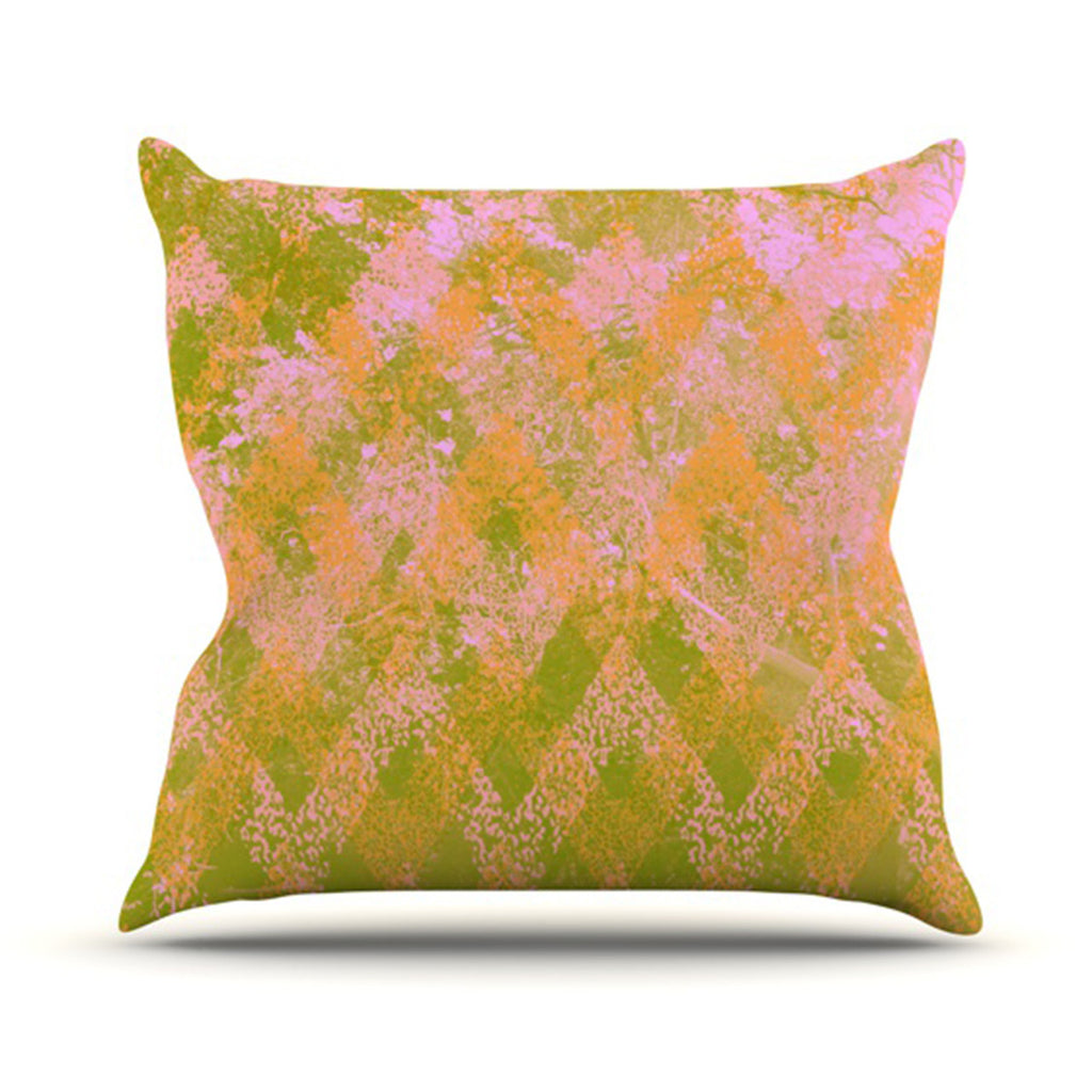 "Marianna Tankelevich ""Fuzzy Feeling"" Throw Pillow - KESS InHouse  - 1"