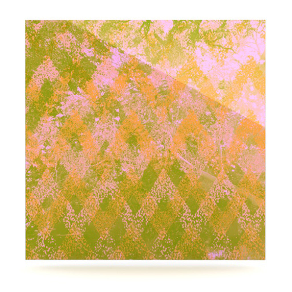 "Marianna Tankelevich ""Fuzzy Feeling"" Luxe Square Panel - KESS InHouse  - 1"