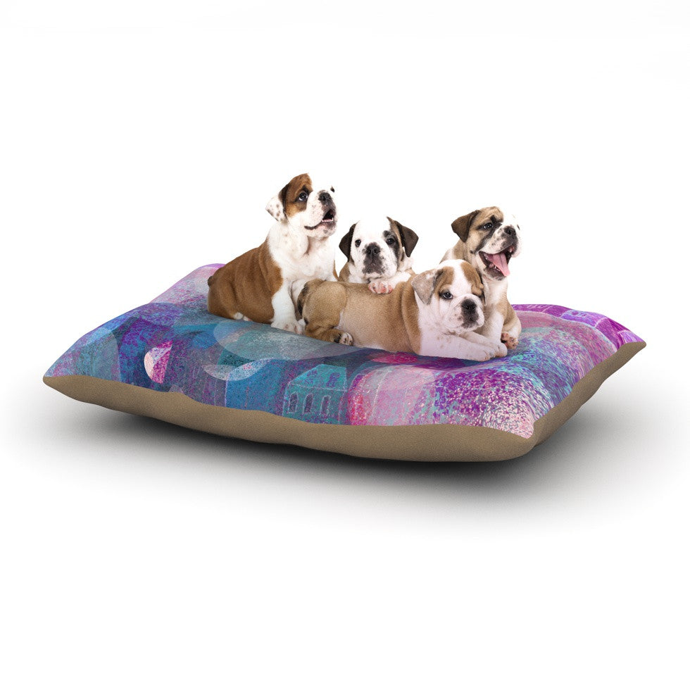 "Marianna Tankelevich ""Dream Houses"" Dog Bed - KESS InHouse  - 1"
