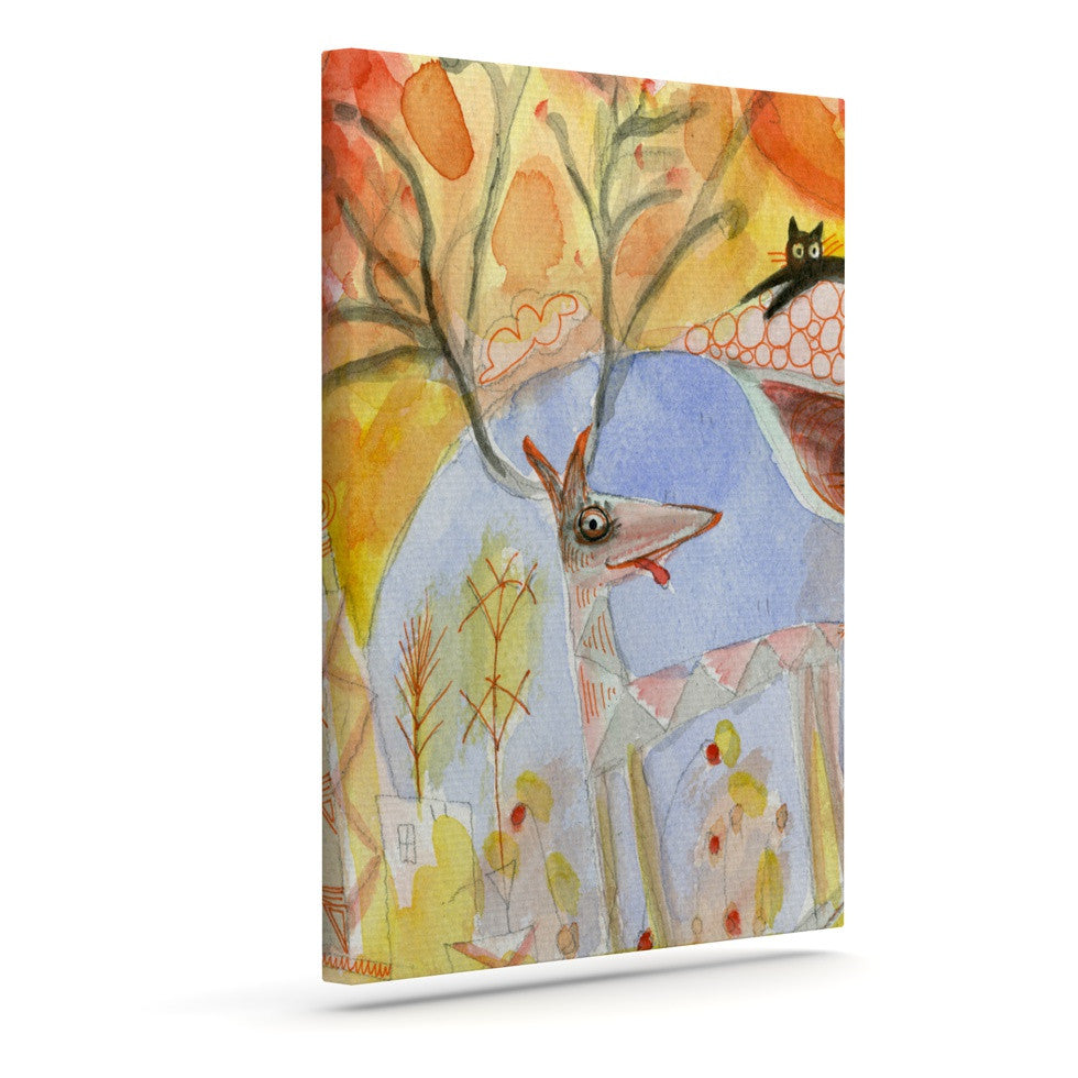 "Marianna Tankelevich ""Promise of Magic"" Outdoor Canvas Wall Art - KESS InHouse  - 1"