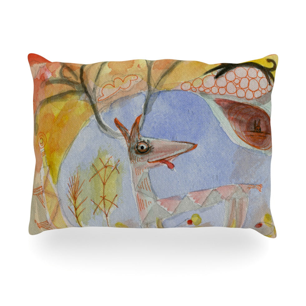 "Marianna Tankelevich ""Promise of Magic"" Oblong Pillow - KESS InHouse"