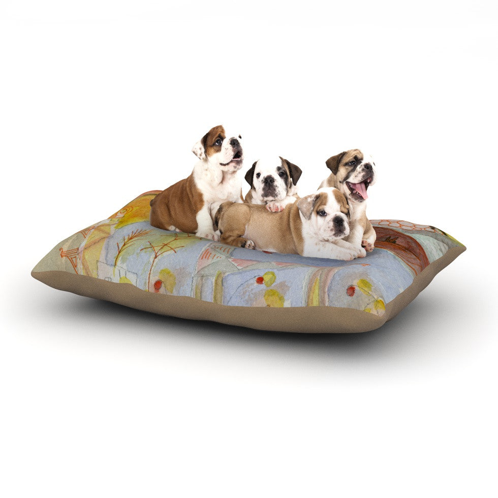 "Marianna Tankelevich ""Promise of Magic"" Dog Bed - KESS InHouse  - 1"