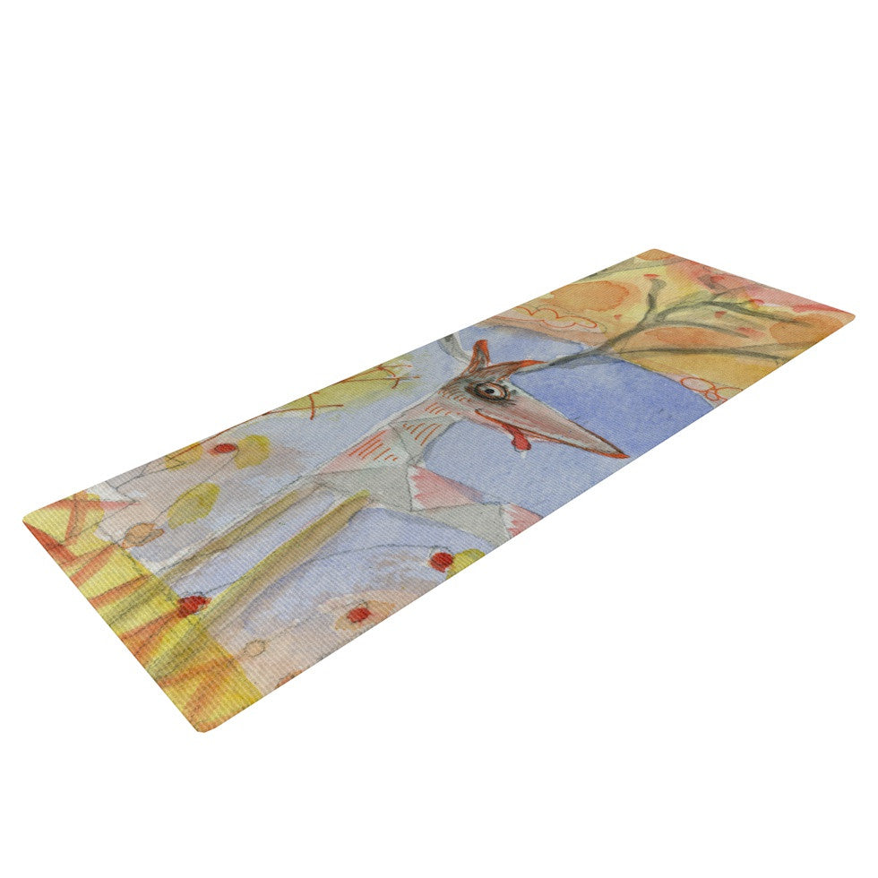 "Marianna Tankelevich ""Promise of Magic"" Yoga Mat - KESS InHouse  - 1"