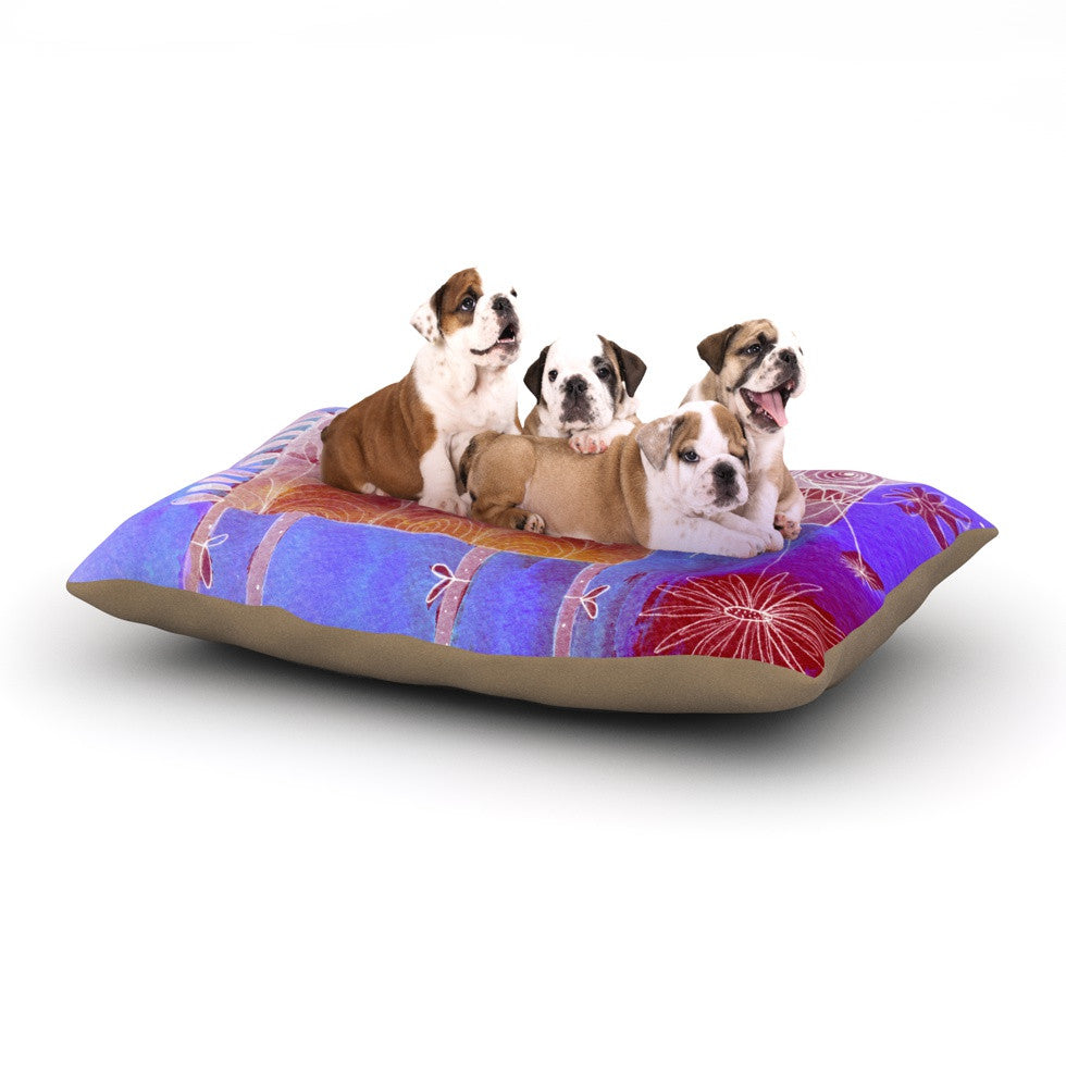 "Marianna Tankelevich ""Scary Song About Love"" Dog Bed - KESS InHouse  - 1"