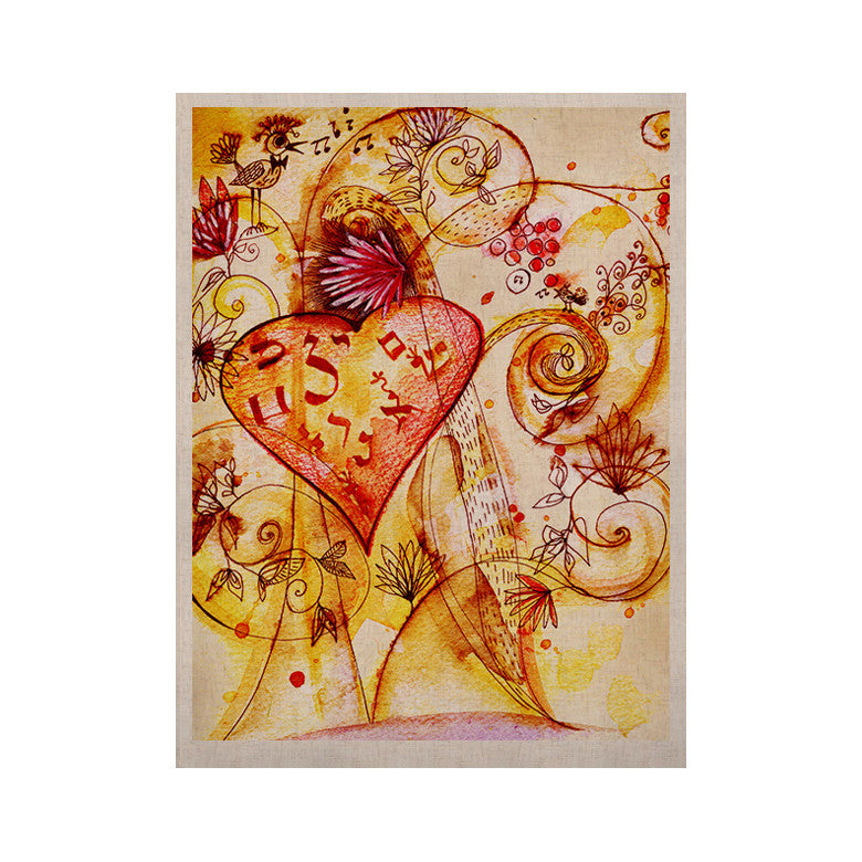 "Marianna Tankelevich ""Tree of Love"" KESS Naturals Canvas (Frame not Included) - KESS InHouse  - 1"