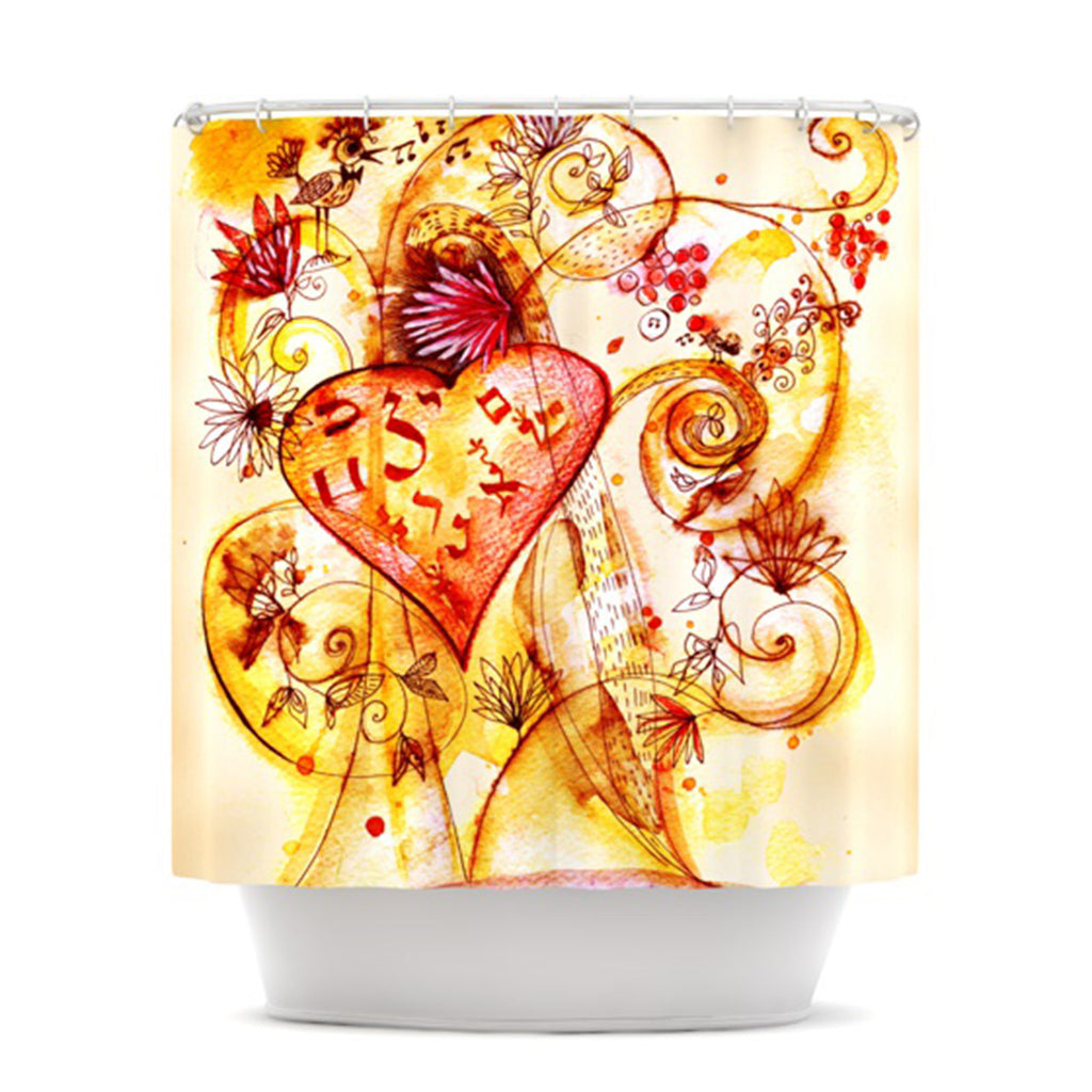 "Marianna Tankelevich ""Tree of Love"" Shower Curtain - KESS InHouse"