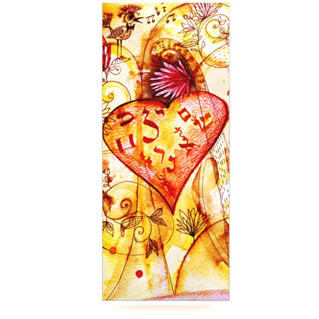 "Marianna Tankelevich ""Tree of Love"" Luxe Rectangle Panel - KESS InHouse  - 1"