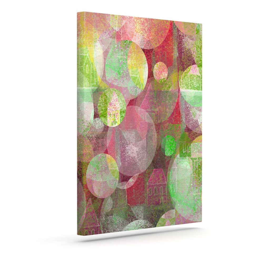 "Marianna Tankelevich ""Dream Place"" Outdoor Canvas Wall Art - KESS InHouse  - 1"