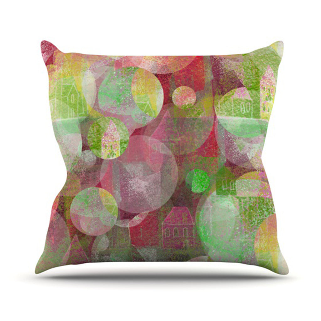 "Marianna Tankelevich ""Dream Place"" Outdoor Throw Pillow - KESS InHouse  - 1"