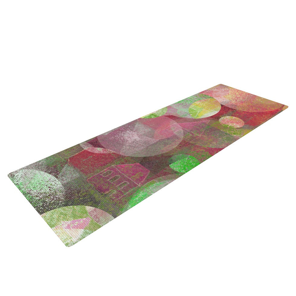 "Marianna Tankelevich ""Dream Place"" Yoga Mat - KESS InHouse  - 1"