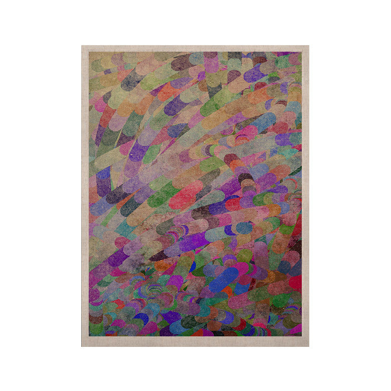 "Marianna Tankelevich ""Abstract"" Rainbow KESS Naturals Canvas (Frame not Included) - KESS InHouse  - 1"