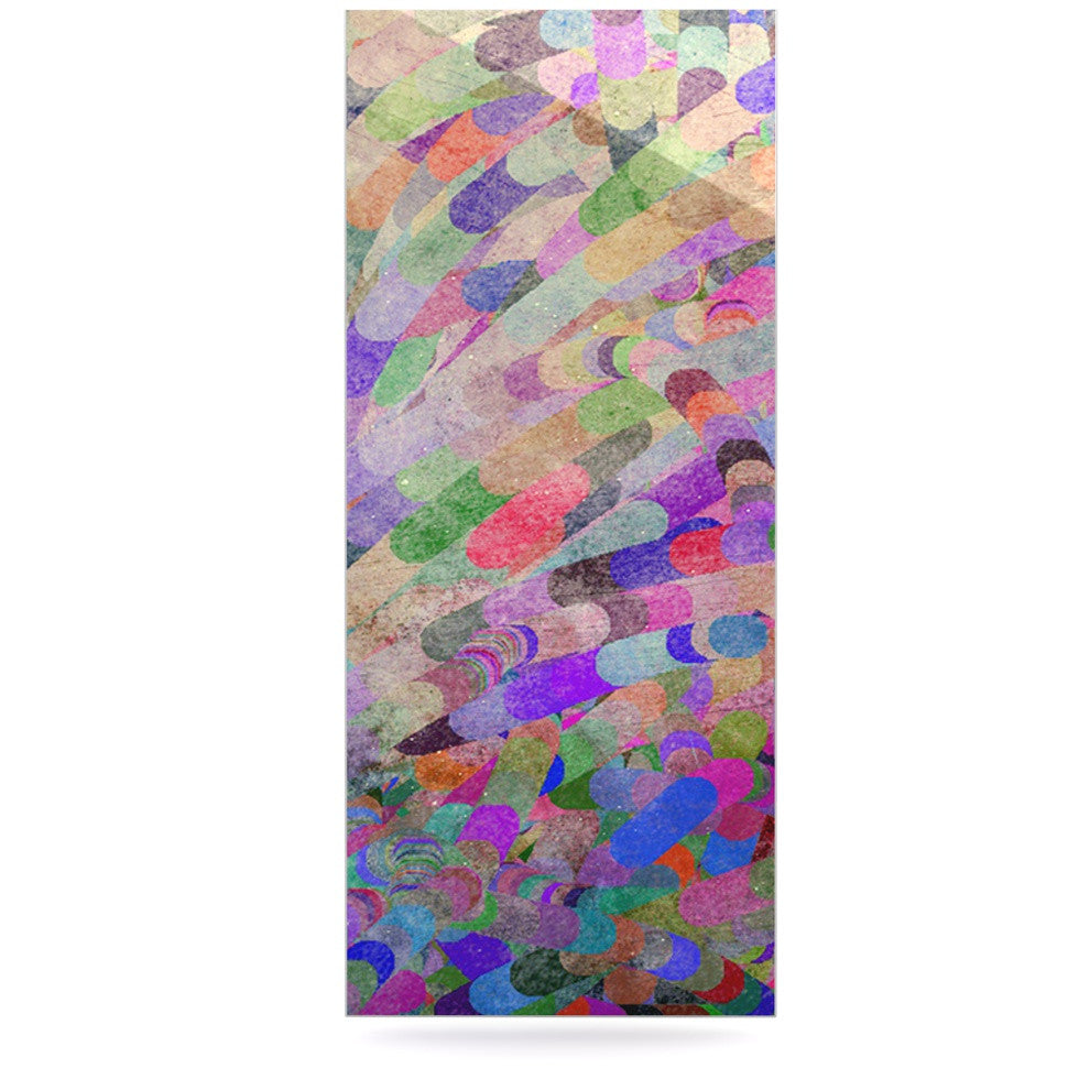 "Marianna Tankelevich ""Abstract"" Rainbow Luxe Rectangle Panel - KESS InHouse  - 1"