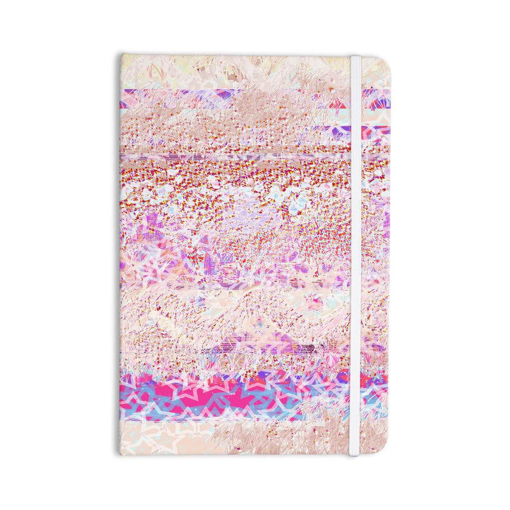 "Marianna Tankelevich ""Broken Pattern"" Pink Purple Everything Notebook - KESS InHouse  - 1"