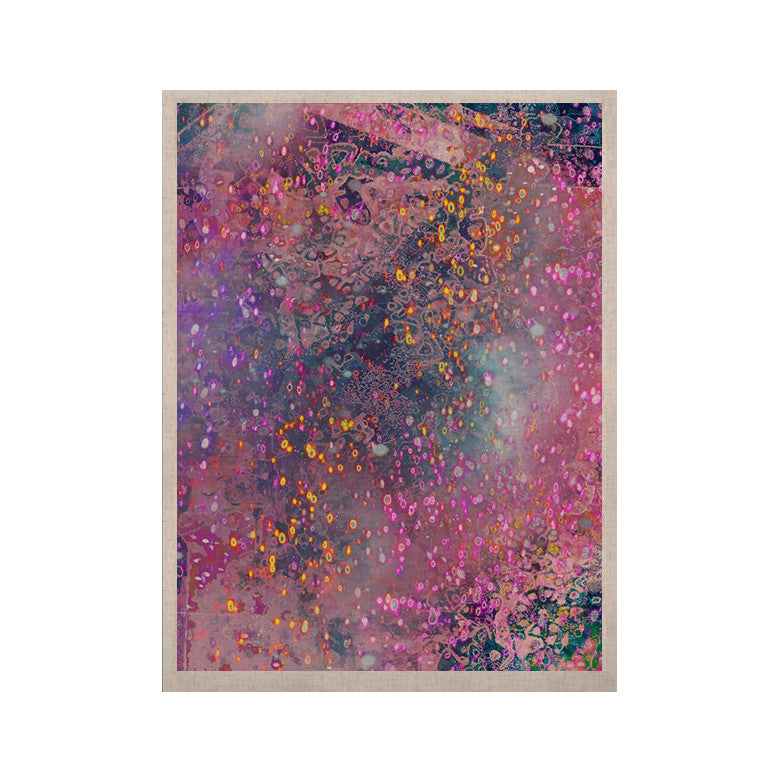 "Marianna Tankelevich ""Pink Universe"" Pink Purple KESS Naturals Canvas (Frame not Included) - KESS InHouse  - 1"