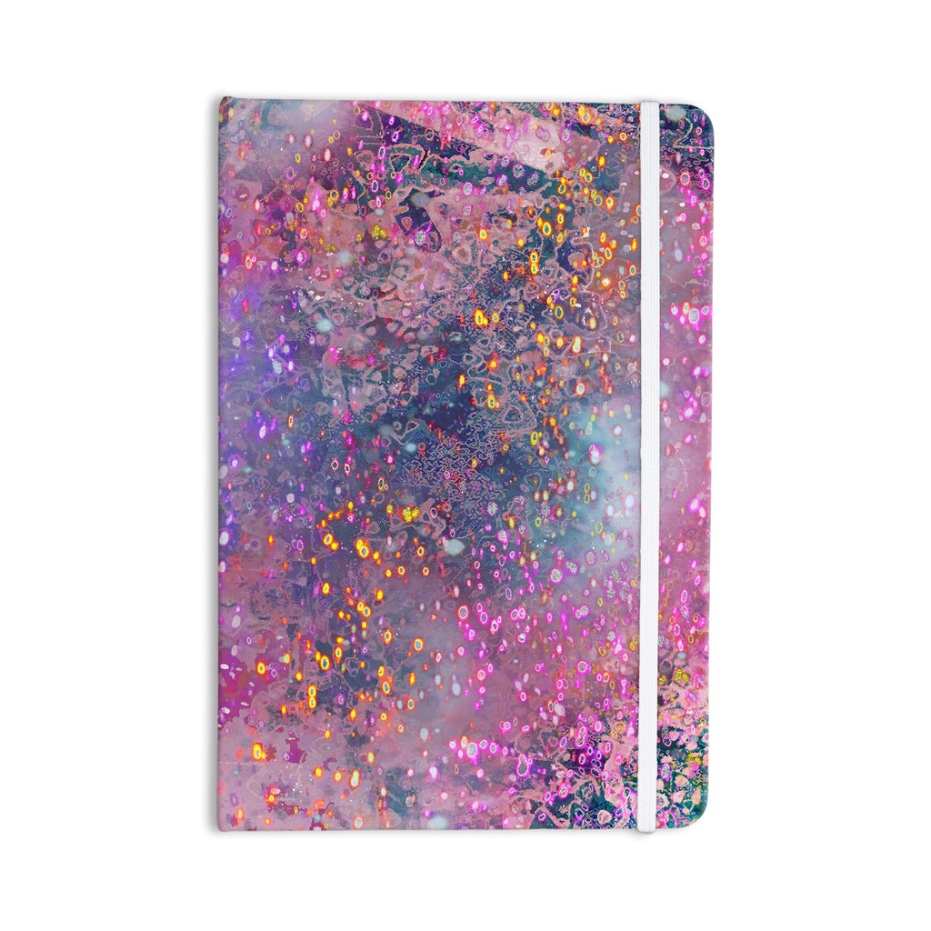 "Marianna Tankelevich ""Pink Universe"" Pink Purple Everything Notebook - KESS InHouse  - 1"