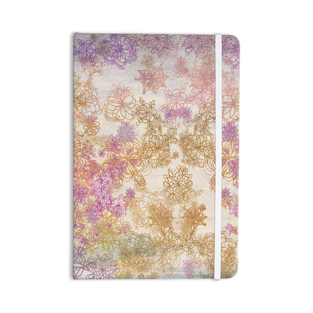 "Marianna Tankelevich ""Retro Summer"" Yellow Pink Everything Notebook - KESS InHouse  - 1"