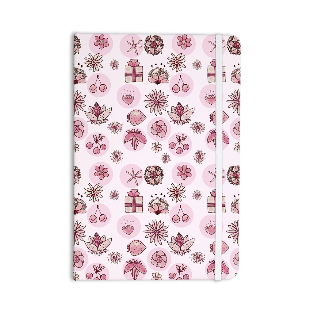 "Marianna Tankelevich ""Cute Stuff"" Pink Illustration Everything Notebook - KESS InHouse  - 1"