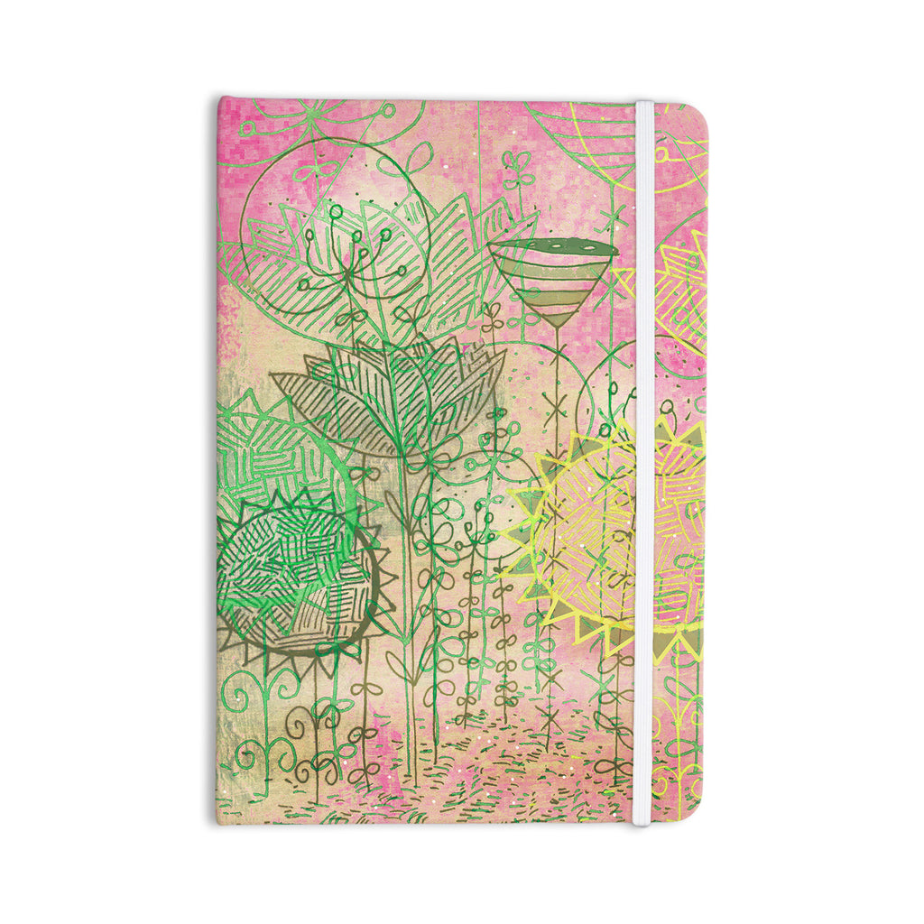 "Marianna Tankelevich ""Pink Dream"" Pink Green Everything Notebook - KESS InHouse  - 1"