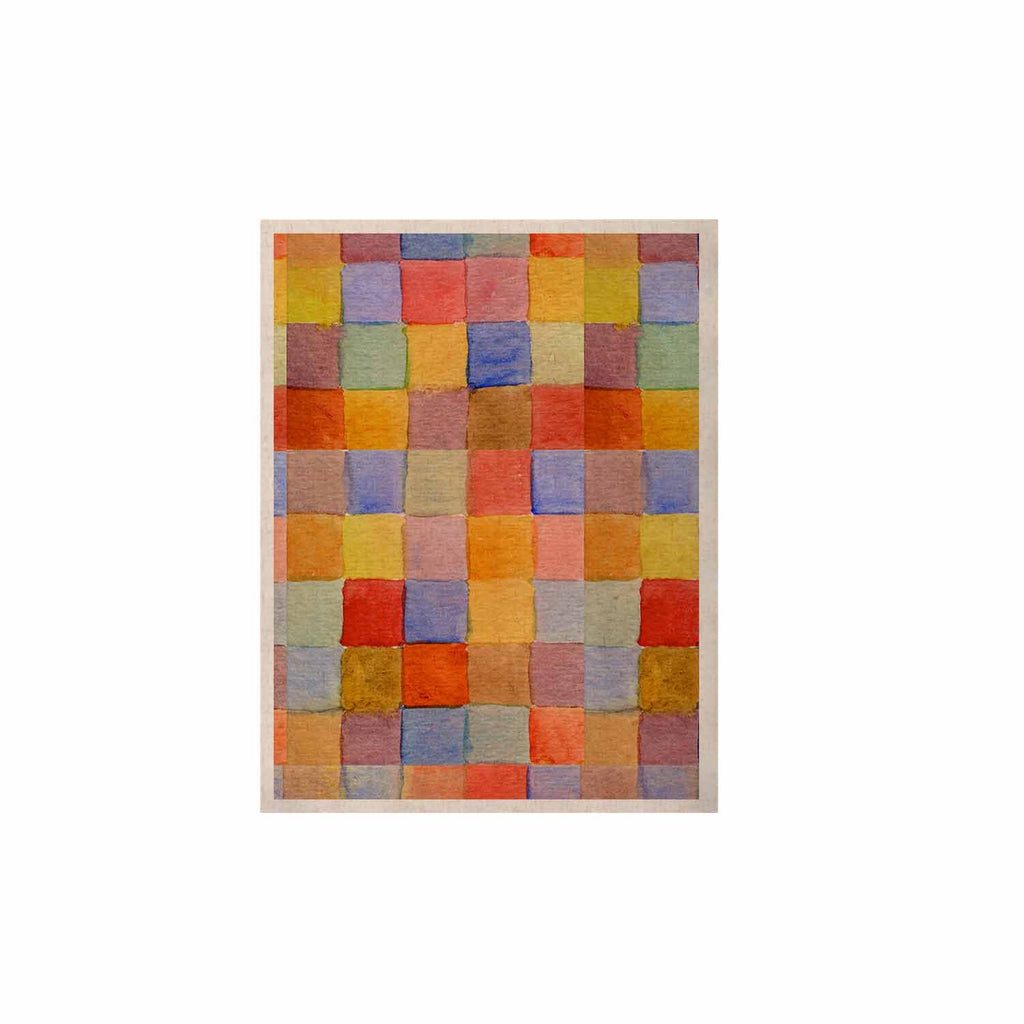 "Marianna Tankelevich ""Rainbow Mozaic"" Multicolor Pattern KESS Naturals Canvas (Frame not Included) - KESS InHouse  - 1"