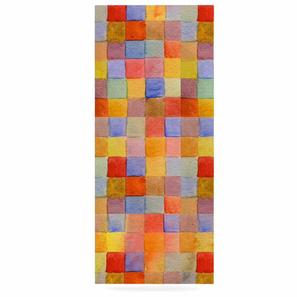 "Marianna Tankelevich ""Rainbow Mozaic"" Multicolor Pattern Luxe Rectangle Panel - KESS InHouse  - 1"