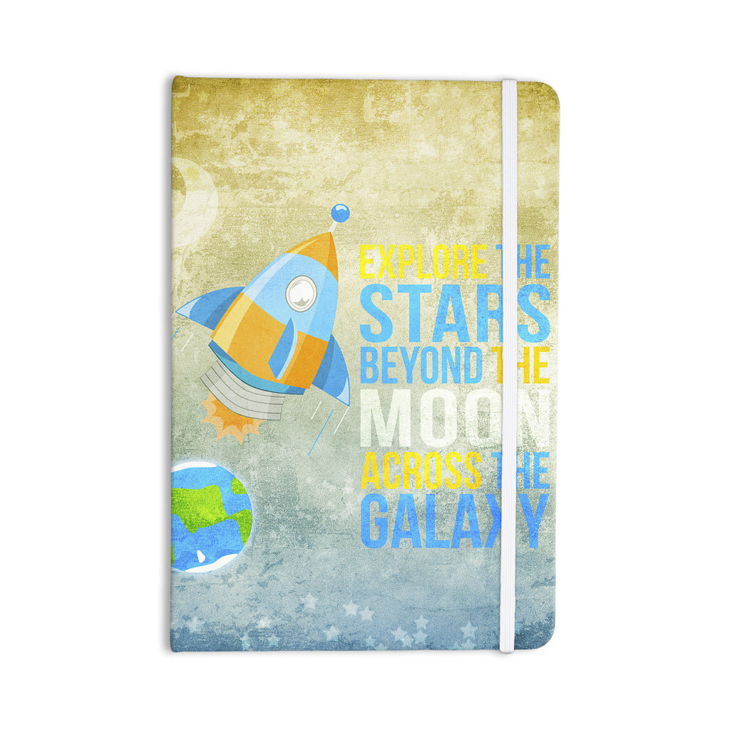 "Nick Atkinson ""Explore the stars"" Everything Notebook - KESS InHouse  - 1"