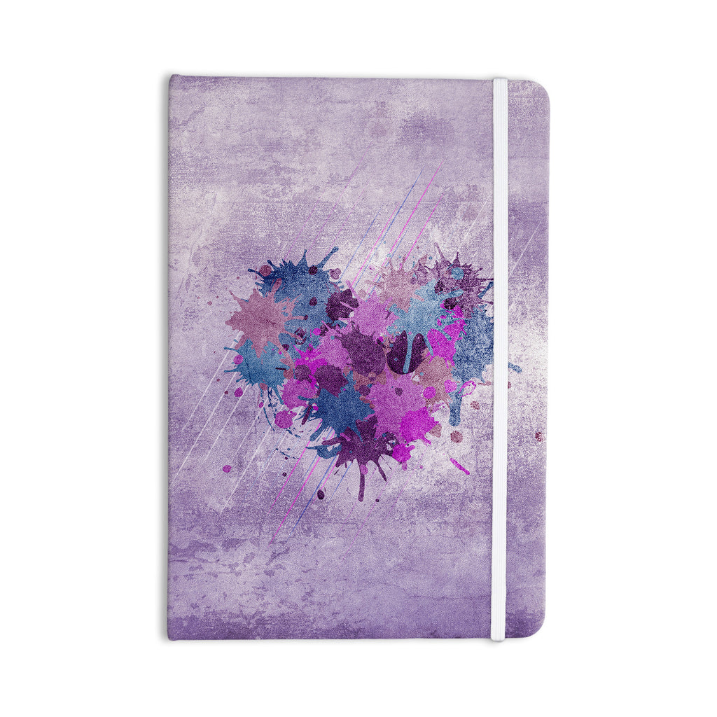 "Nick Atkinson ""Painted Heart"" Everything Notebook - KESS InHouse  - 1"