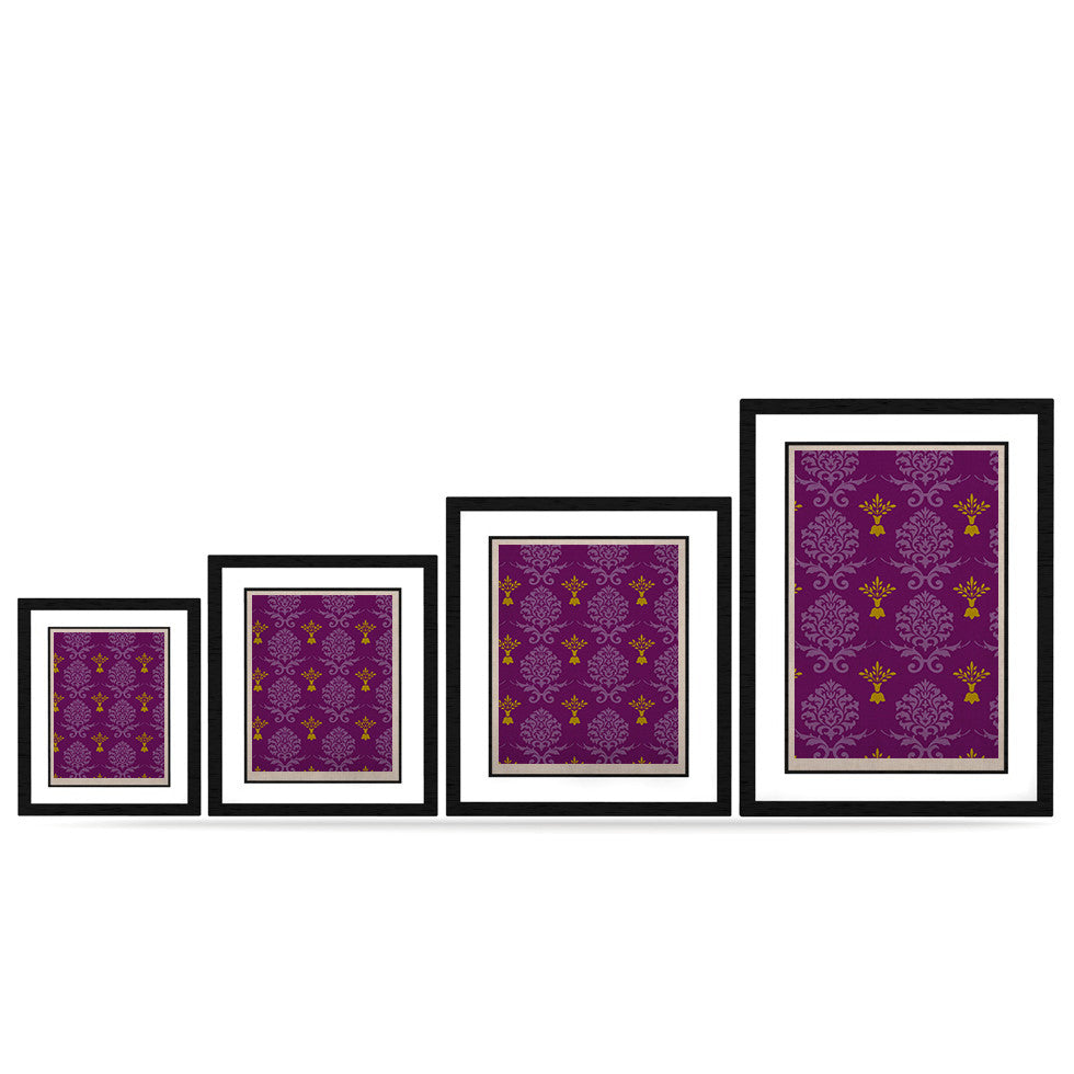 "Nicole Ketchum ""Purple Crowns"" KESS Naturals Canvas (Frame not Included) - KESS InHouse"