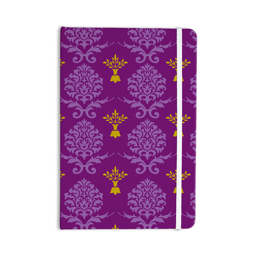 "Nicole Ketchum ""Purple Crowns"" Everything Notebook - KESS InHouse  - 1"