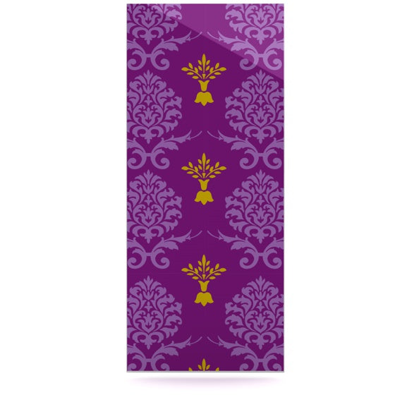"Nicole Ketchum ""Purple Crowns"" Luxe Rectangle Panel - KESS InHouse  - 1"