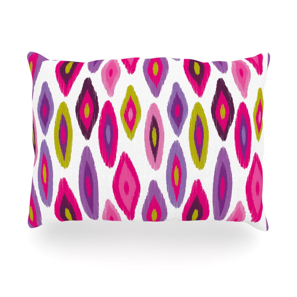 "Nicole Ketchum ""Moroccan Dreams"" Oblong Pillow - KESS InHouse"
