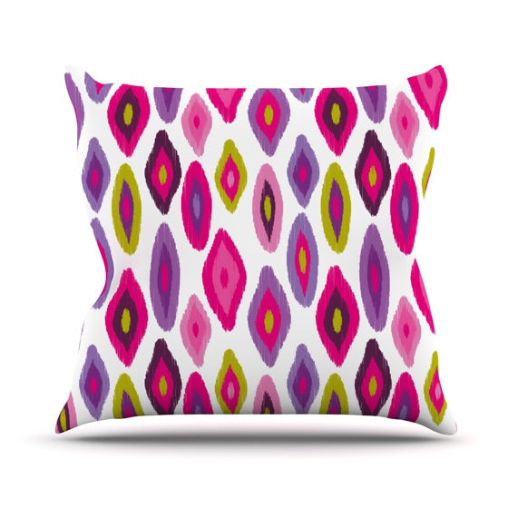 "Nicole Ketchum ""Moroccan Dreams"" Throw Pillow - KESS InHouse  - 1"