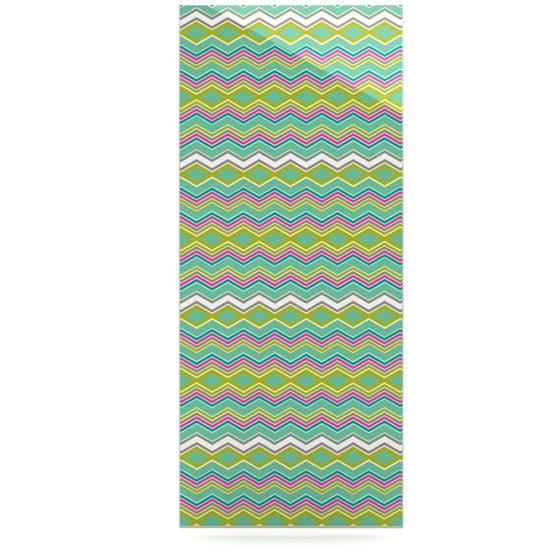 "Nicole Ketchum ""Chevron Love"" Luxe Rectangle Panel - KESS InHouse  - 1"