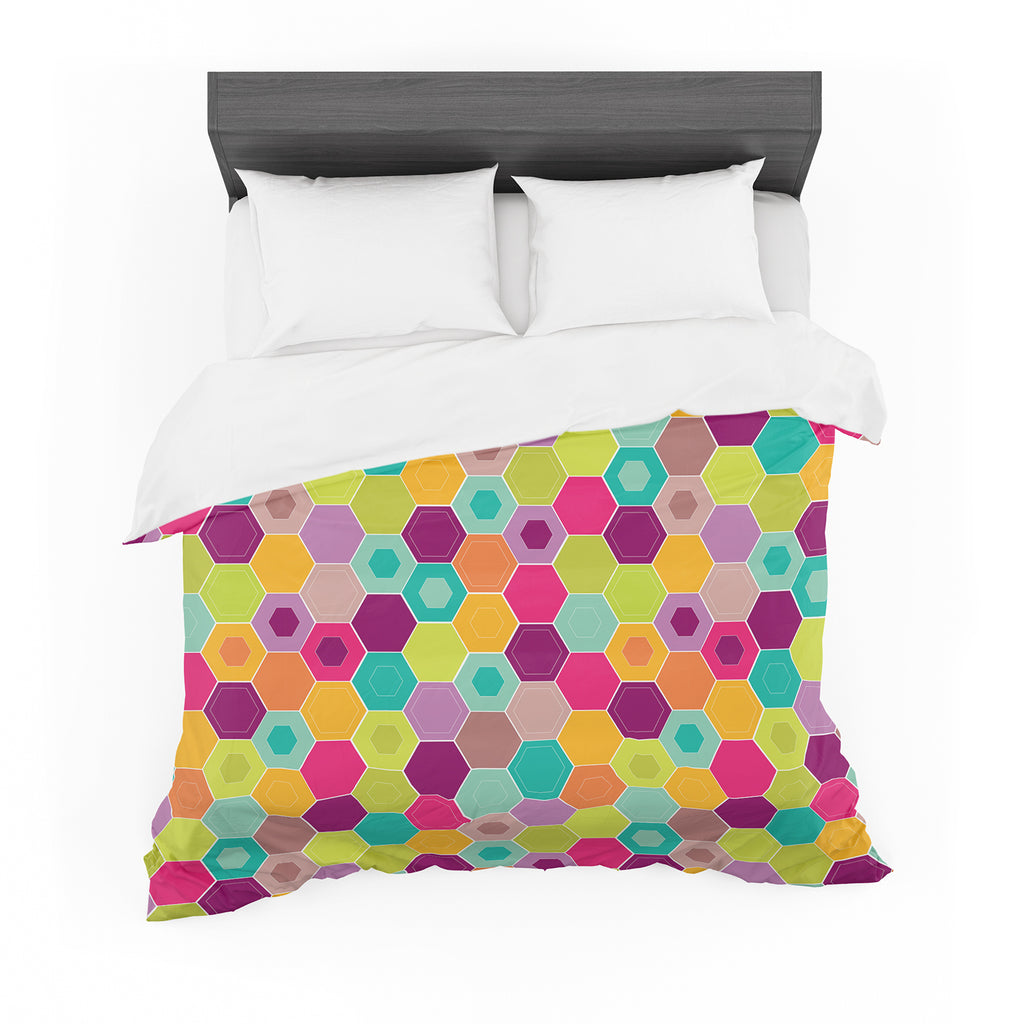 "Nicole Ketchum ""Arabian Bee"" Cotton Duvet"