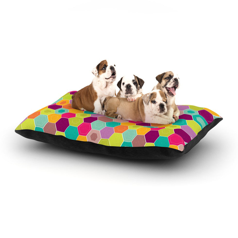 "Nicole Ketchum ""Arabian Bee"" Dog Bed - KESS InHouse"