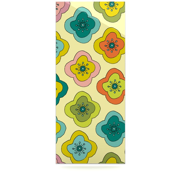 "Nicole Ketchum ""Forest Bloom"" Luxe Rectangle Panel - KESS InHouse"