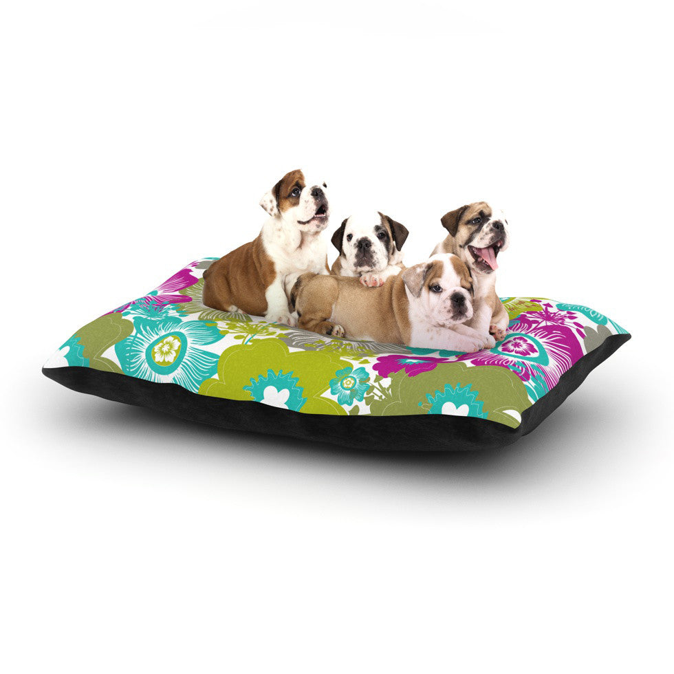 "Nicole Ketchum ""Little Bloom"" Dog Bed - KESS InHouse  - 1"