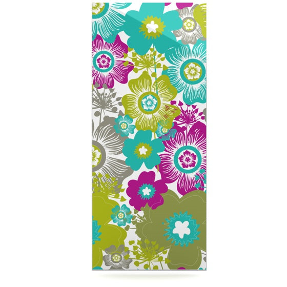 "Nicole Ketchum ""Little Bloom"" Luxe Rectangle Panel - KESS InHouse  - 1"