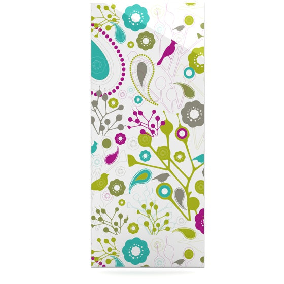 "Nicole Ketchum ""Bird Fantasy"" Luxe Rectangle Panel - KESS InHouse  - 1"