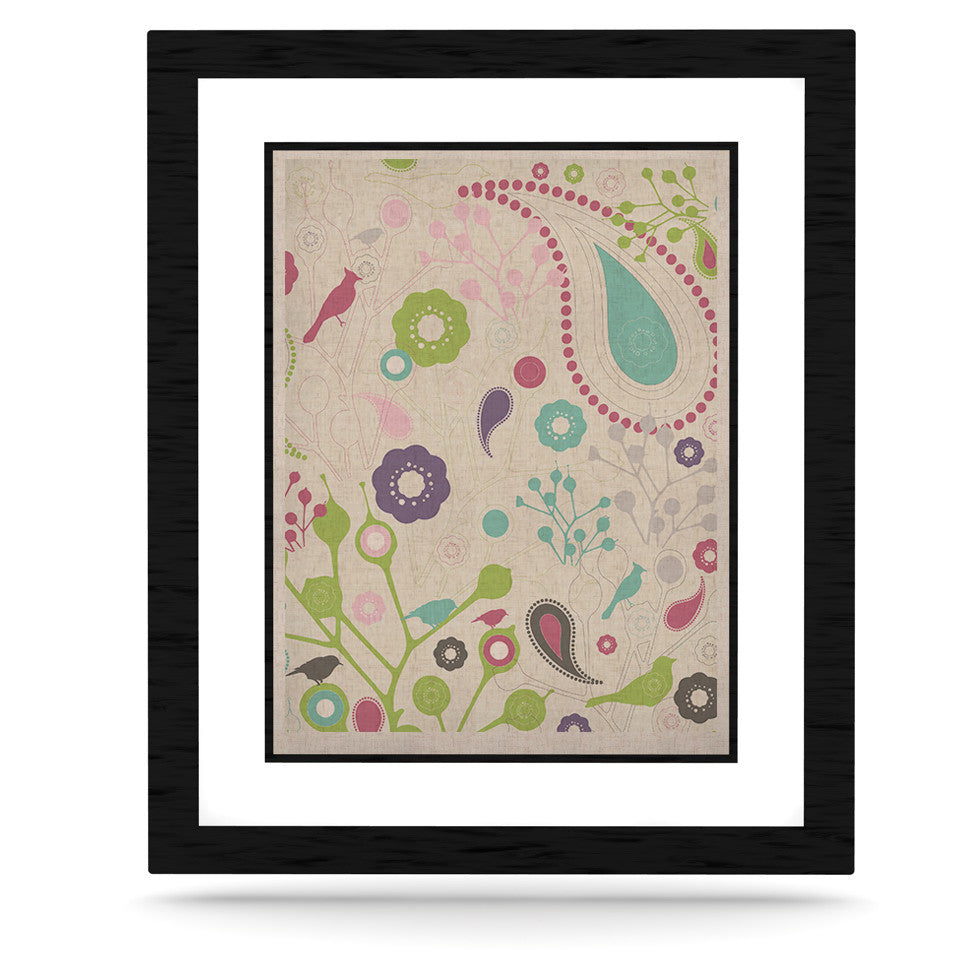 "Nicole Ketchum ""Bird Song"" KESS Naturals Canvas (Frame not Included) - KESS InHouse  - 1"