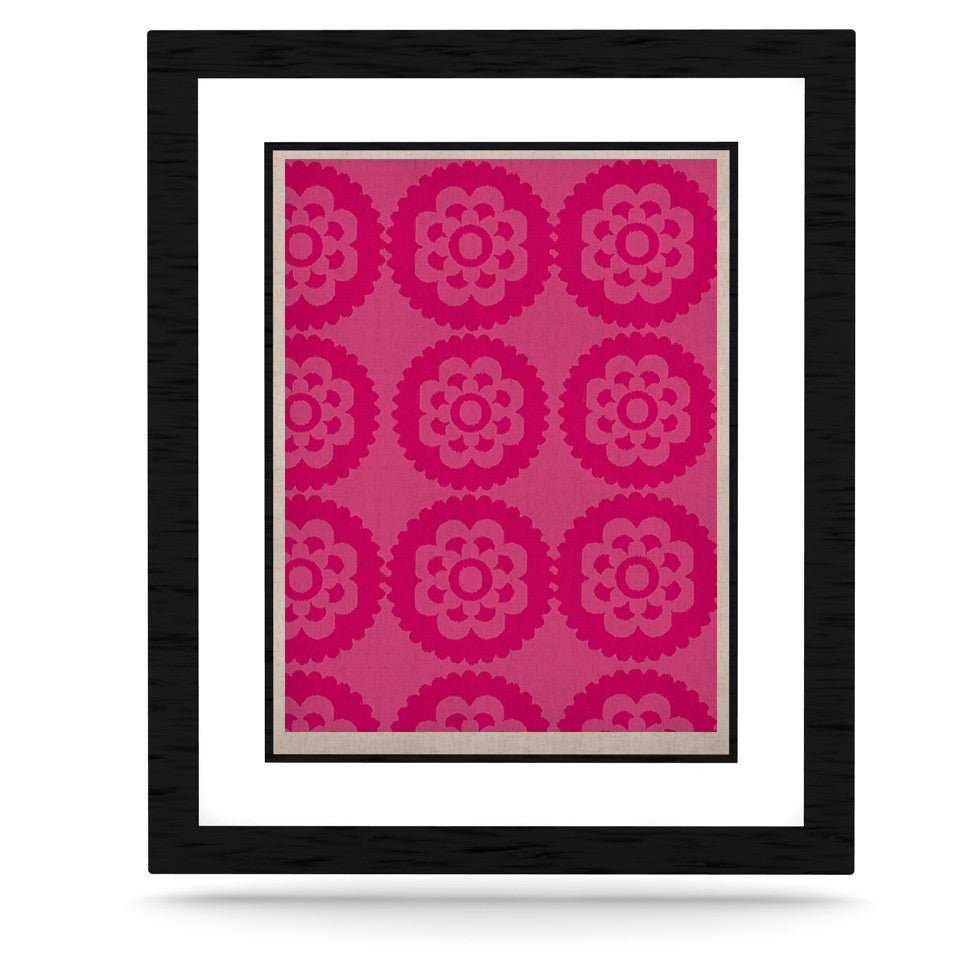 "Nicole Ketchum ""Moroccan Hot Pink"" KESS Naturals Canvas (Frame not Included) - KESS InHouse  - 1"