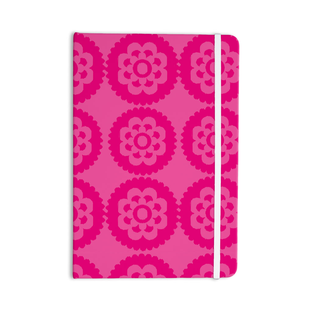 "Nicole Ketchum ""Moroccan Hot Pink"" Everything Notebook - KESS InHouse  - 1"