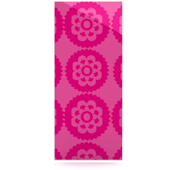 "Nicole Ketchum ""Moroccan Hot Pink"" Luxe Rectangle Panel - KESS InHouse  - 1"