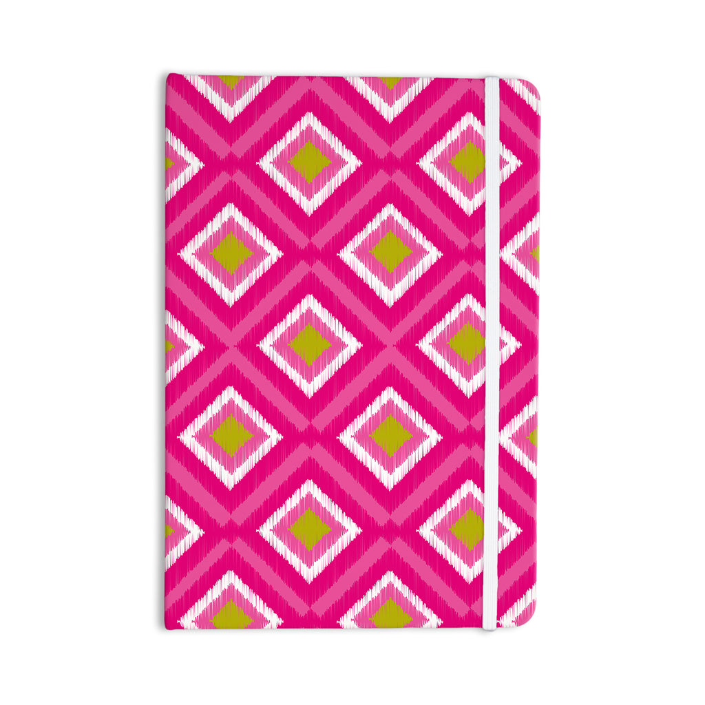 "Nicole Ketchum ""Moroccan Hot Pink Tile"" Everything Notebook - KESS InHouse  - 1"