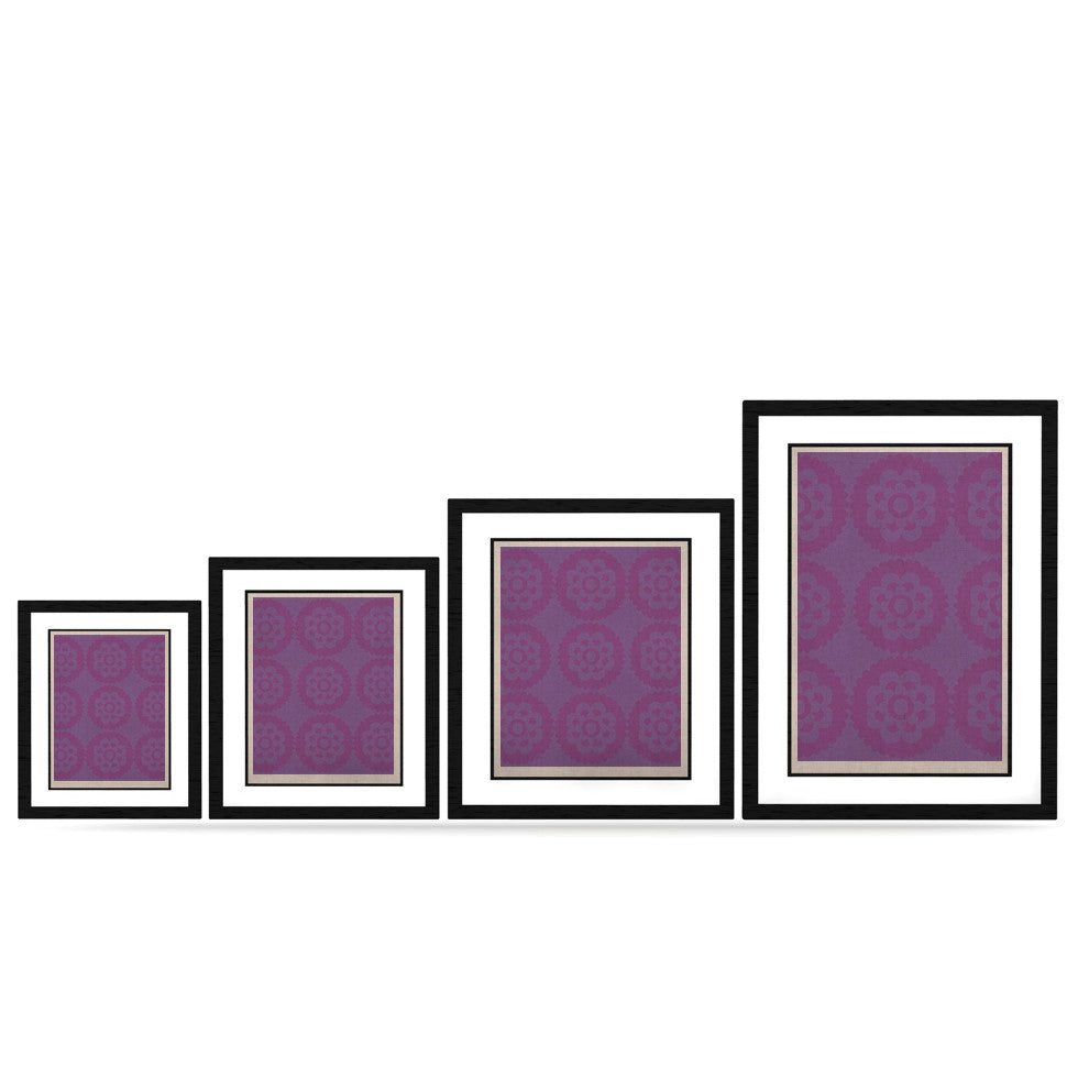 "Nicole Ketchum ""Moroccan Lilac"" KESS Naturals Canvas (Frame not Included) - KESS InHouse"